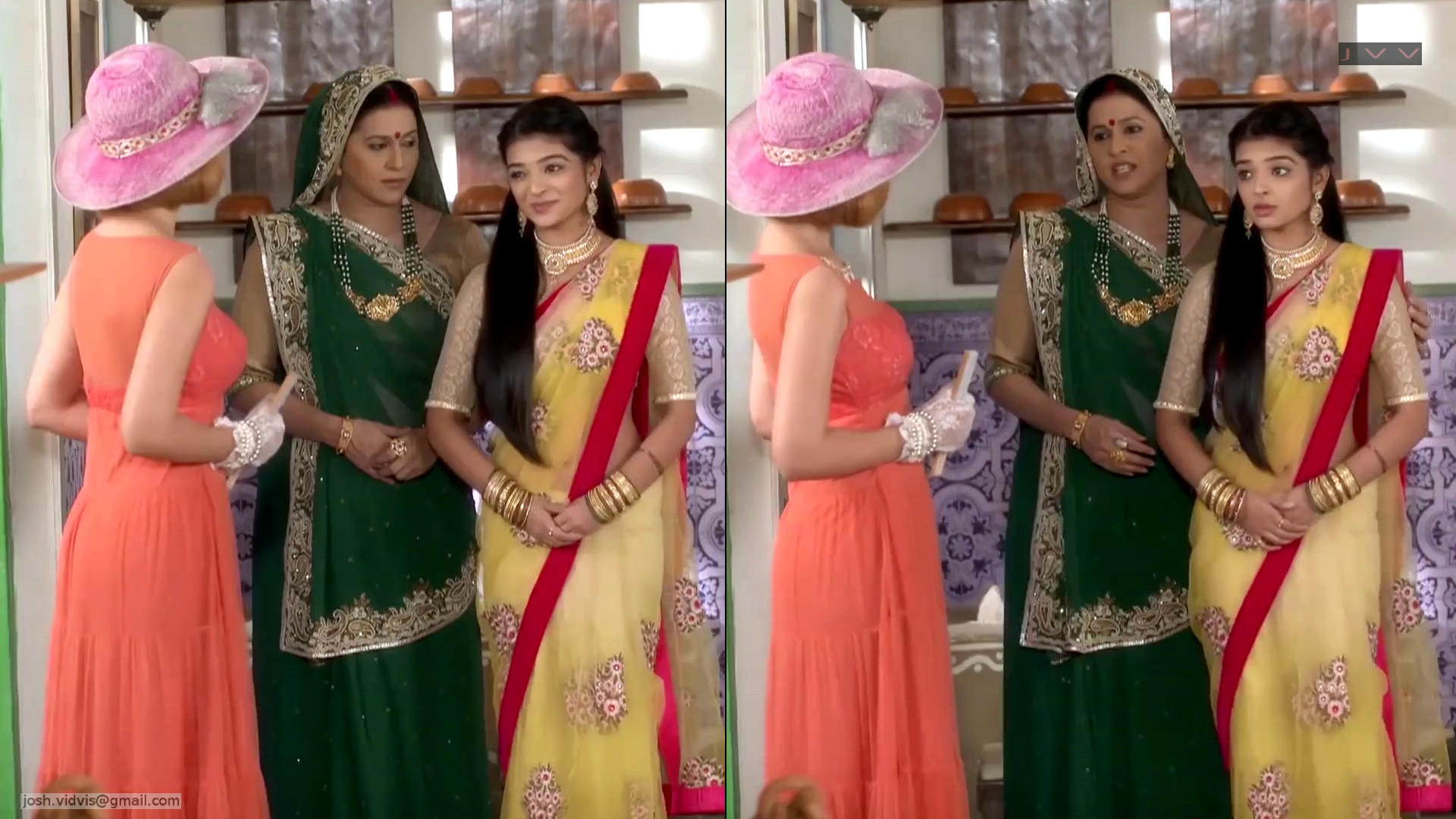 Ketki kadam Hindi TV hot saree navel show hd caps
