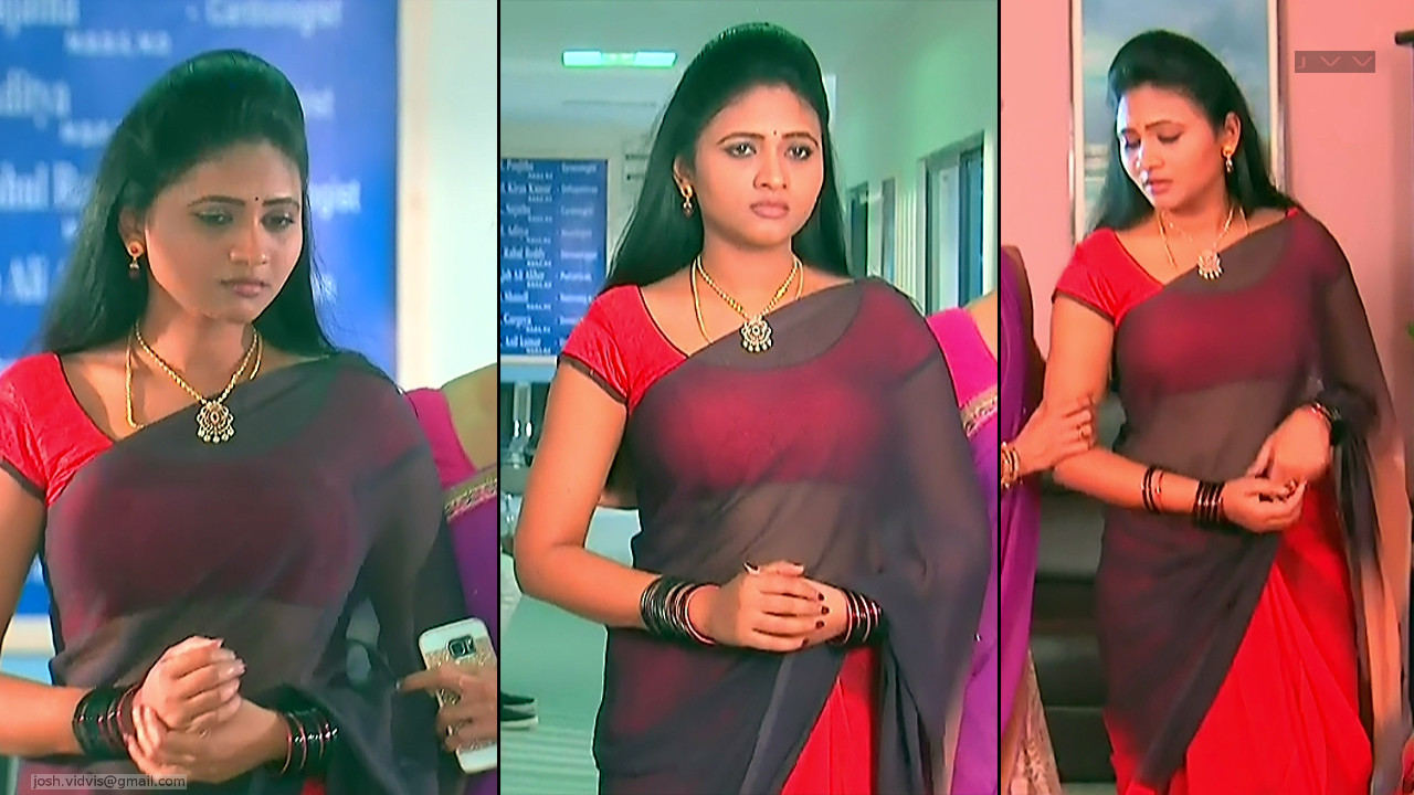 Telugu TV Actress_SVSC_06_Hot Saree Pics