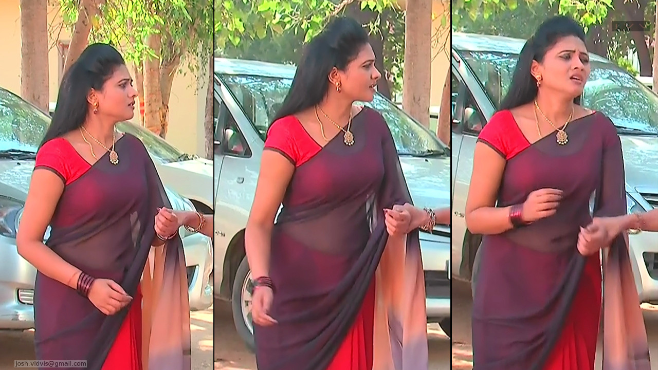 Telugu TV Actress_SVSC_07_Hot Saree Pics