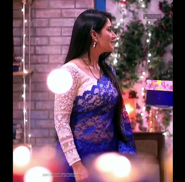 Aditi Rathore_Hindi TV Actress_05_Hot Saree navel