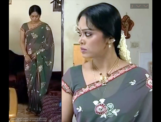 DeviPriya_Tamil TV Actress_01_hot saree