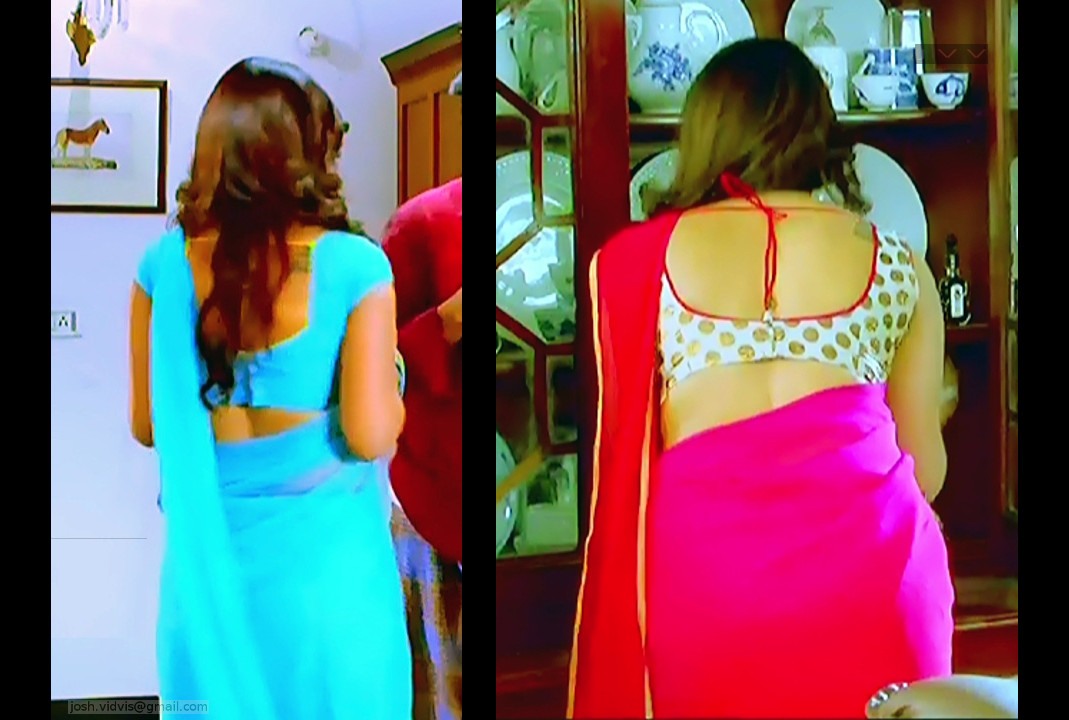 Isha Chawla_SN_07_Saree Navel Scene