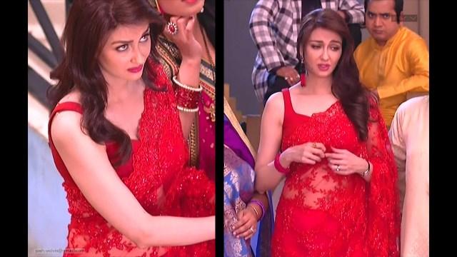 Saumya Tandon_Hindi TV Actress_06_Hot Saree navel Pics