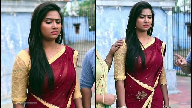 Nandhini_Tamil TV Actress06_Saree Caps