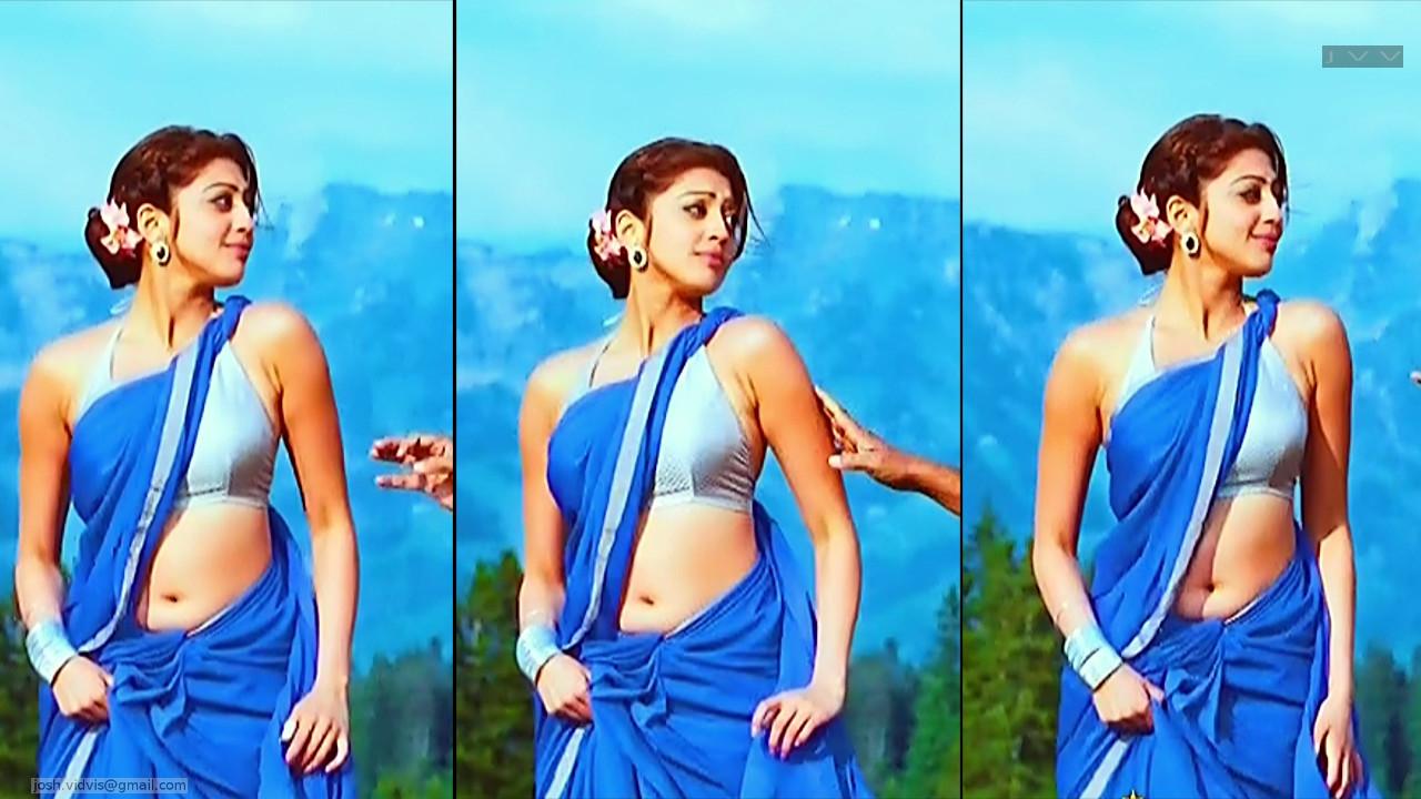 Pranitha Subhash_AD-Song1_08_Hot Saree navel Pics