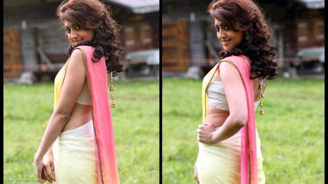 Pranitha Subhash_AD-Song1_12_Hot Saree navel Pics