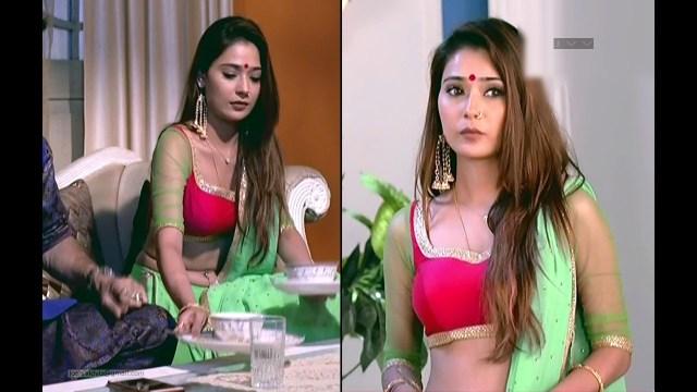 Sara Khan_Hindi TV_ShaktiAKEK_05_Lehenga Hot Pics