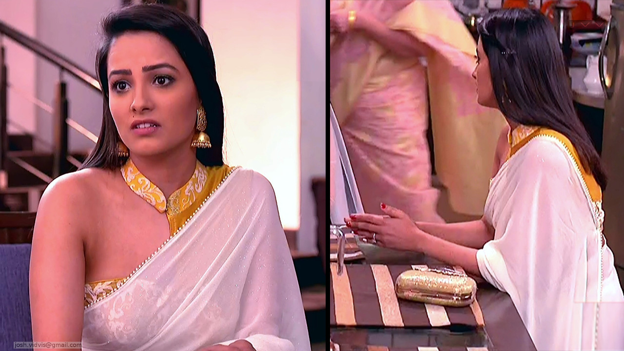 Anita Hassanandani_Hindi TV Actress_03_Transparent Saree Photo