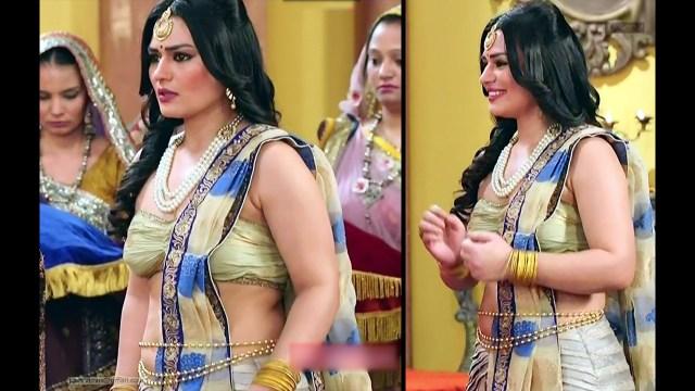 Renee Dhyani_TV Actress_05_Hot navel show pics
