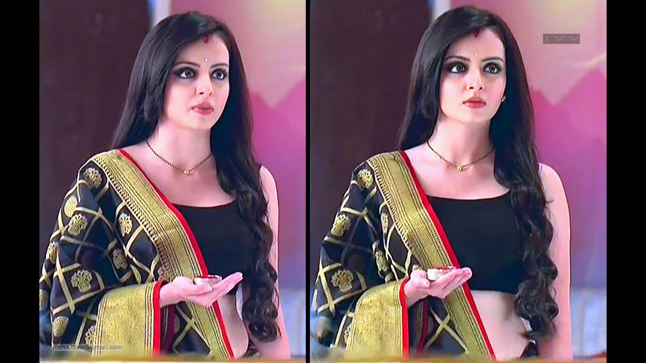 Shrenu Parikh_Hindi TV Actress_08_Saree Pics