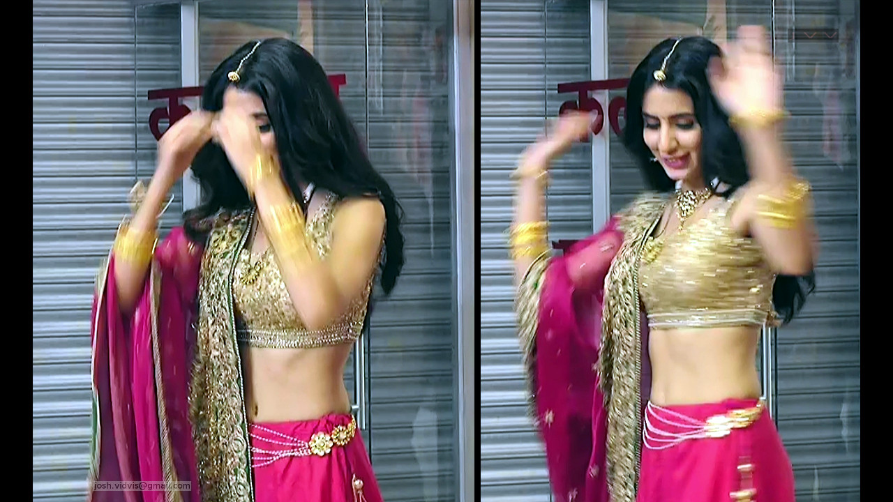 Swati Kapoor_Hindi TV Actress_23_Lehenga Navel