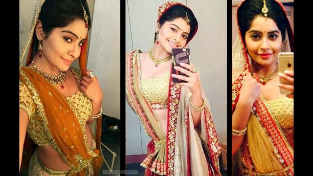 Yukti Kapoor_Hindi TV Actress_07_Stills Lehenga