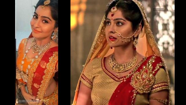 Yukti Kapoor_Hindi TV Actress_22_Stills Lehenga