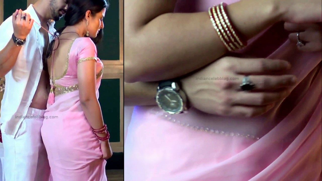 Aditi Rathore_Hindi TV Actress NaamK S3_17_Hot Romance Saree Pics