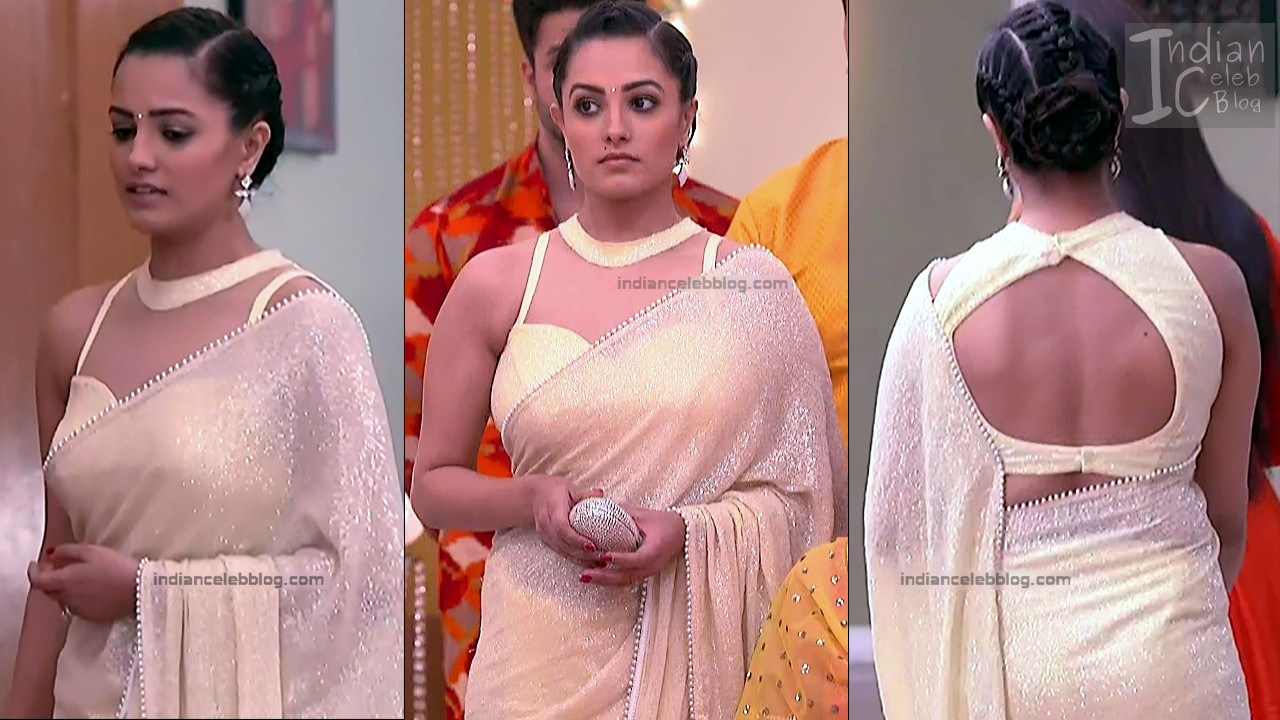 Anita Hassanandani_Hindi TV Actress_9_Hot saree photos