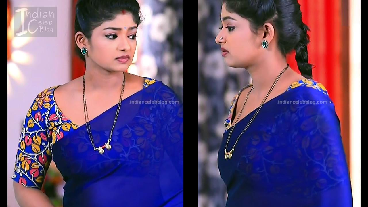 Bhoomi Shetty_Kannada TV_5_Hot serial saree caps