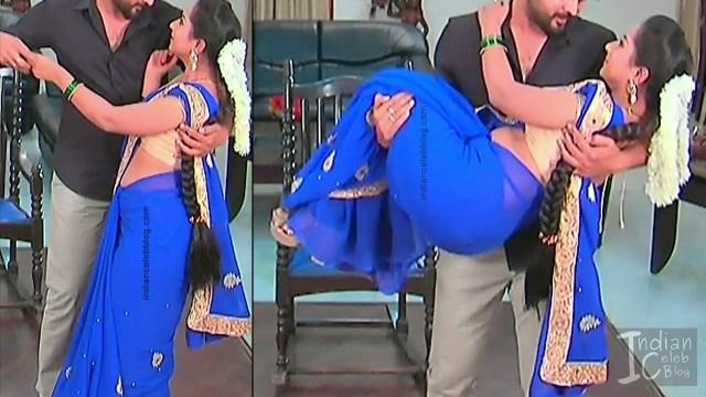 Harshitha_Telugu TV Actress_11_Saree Pics