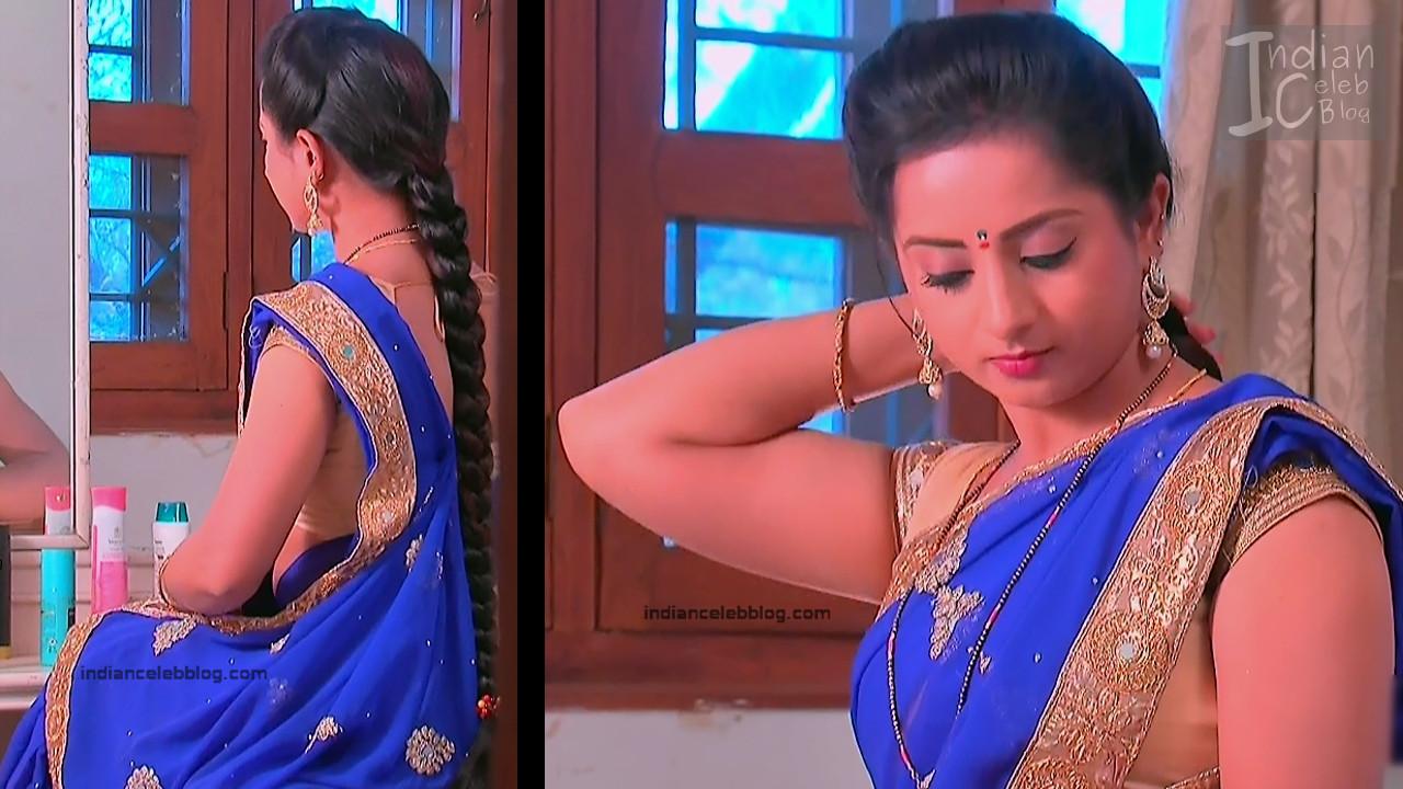 Harshitha_Telugu TV Actress_6_Saree Pics