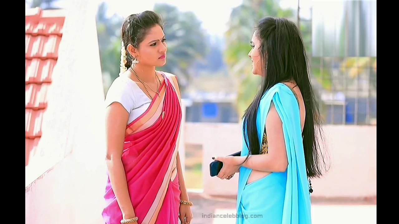 Ranjani Raghavan_Kannada TV Actress_2_Hot Saree Pics