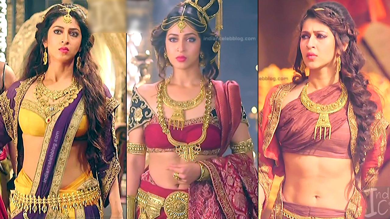 Sonarika Bhadoria hot hd caps from Prithvi vallabh series