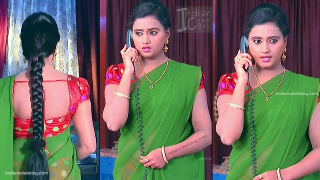 Telugu TV Actress_17_Hot Saree Pic