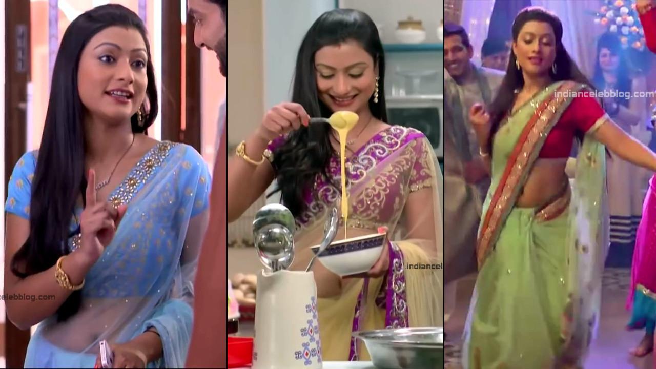 Aalika Sheikh hindi tv serial Saree navel pics