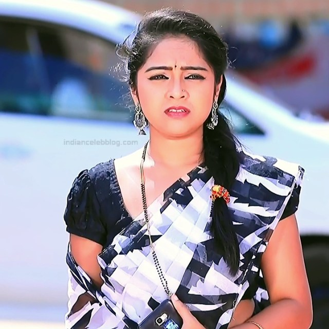 Deepika Dhanya Kannada Serial Kulavadhu S1 13 Saree Pics