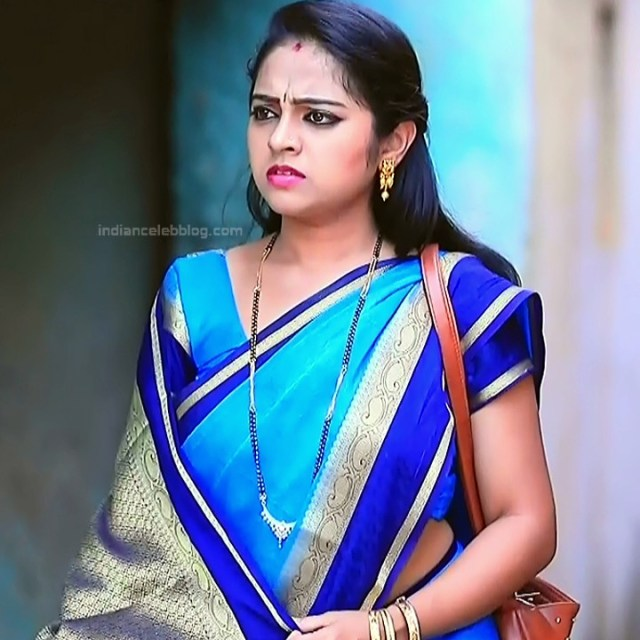 Deepika Dhanya Kannada Serial Kulavadhu S1 18 Saree Pics