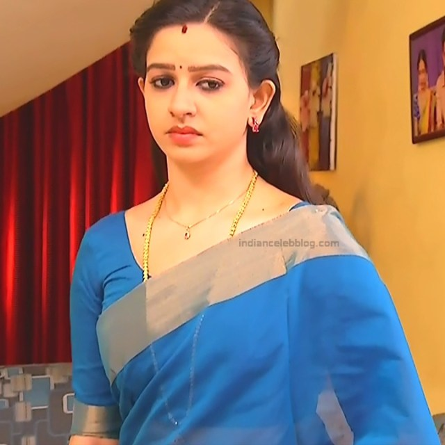 Divya_Tamil TV Actress SMG-S2_7_Saree photo