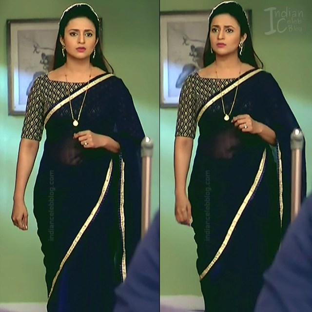 Divyanka Tripathi_Hindi TV Actress YehHM S2_4_Sari Photos
