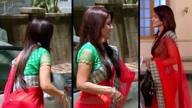Hina Khan_Hindi TV Actress_17_Hot Sari photos