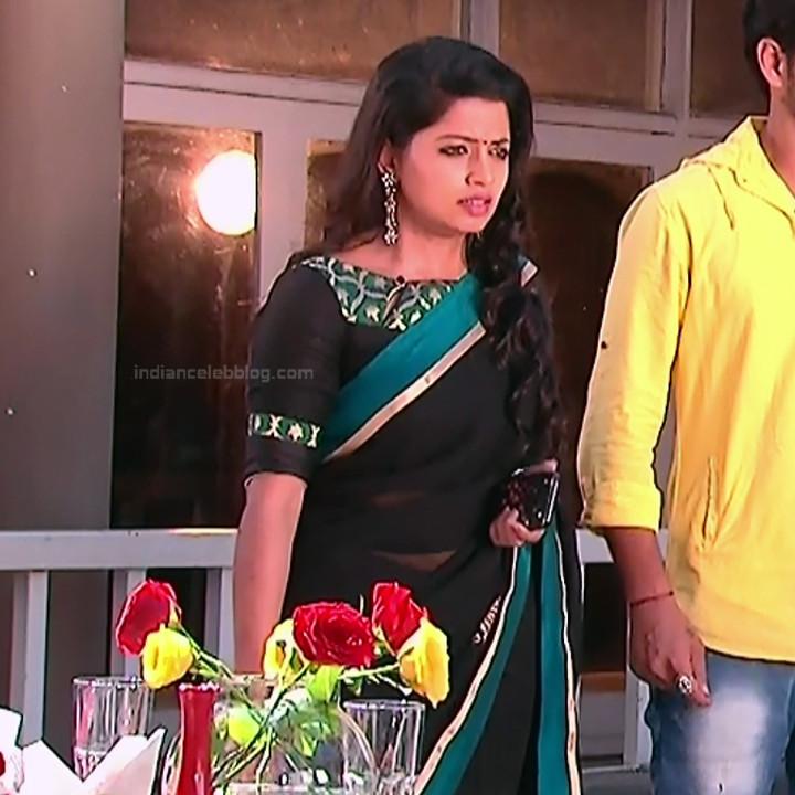 Navya Swamy_Telugu TV Actress Compilation S1_17_Hot Saree photos