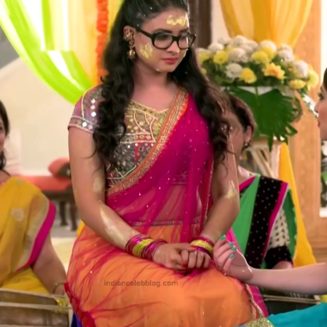 Neha Dangal_Hindi TV Actress TumhiHBST-S1_2_Hot Saree pics