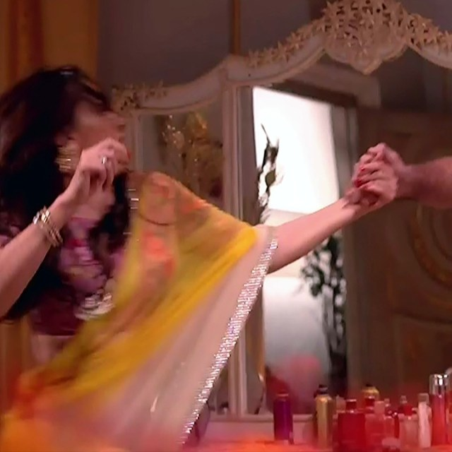 Rubina Dilaik_Hindi TV ShaktiA-S4_10_Hot Sari image