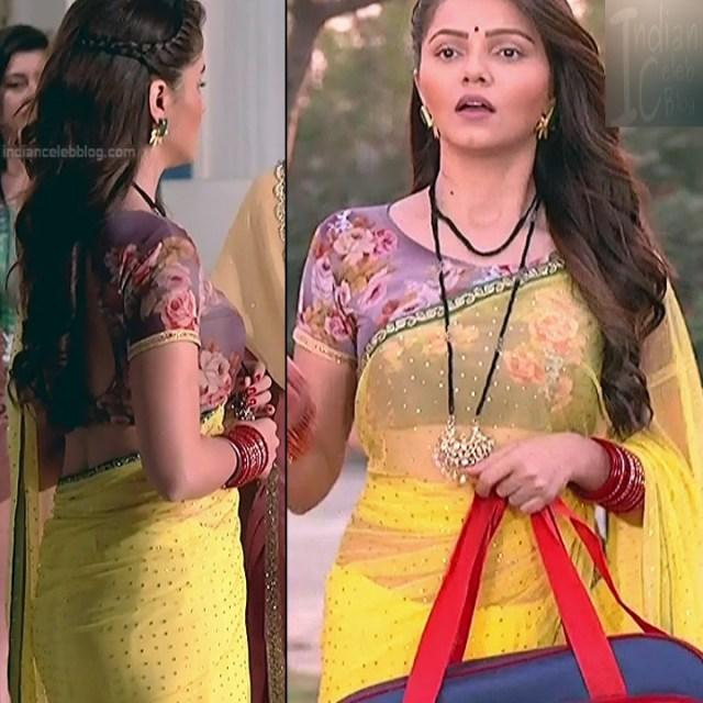 Rubina Dilaik_Hindi TV ShaktiA-S4_20_Hot Sari image