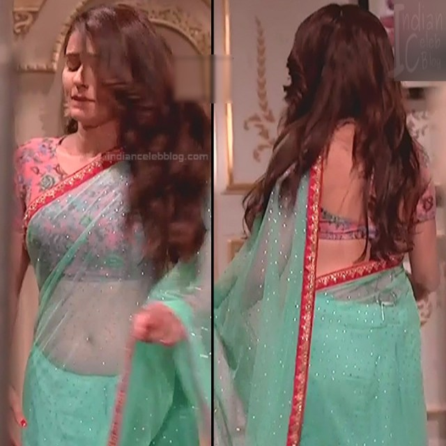 Rubina Dilaik_Hindi TV ShaktiA-S4_8_Hot Sari image