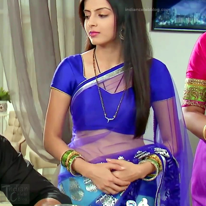 Shrenu Parikh_Hindi TV Actress - Hot Saree Pics S1_1