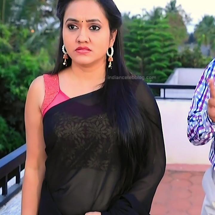 Sindhu Kalyan_Kannada TV Actress PuttaGM-S1_11_Hot Saree pics