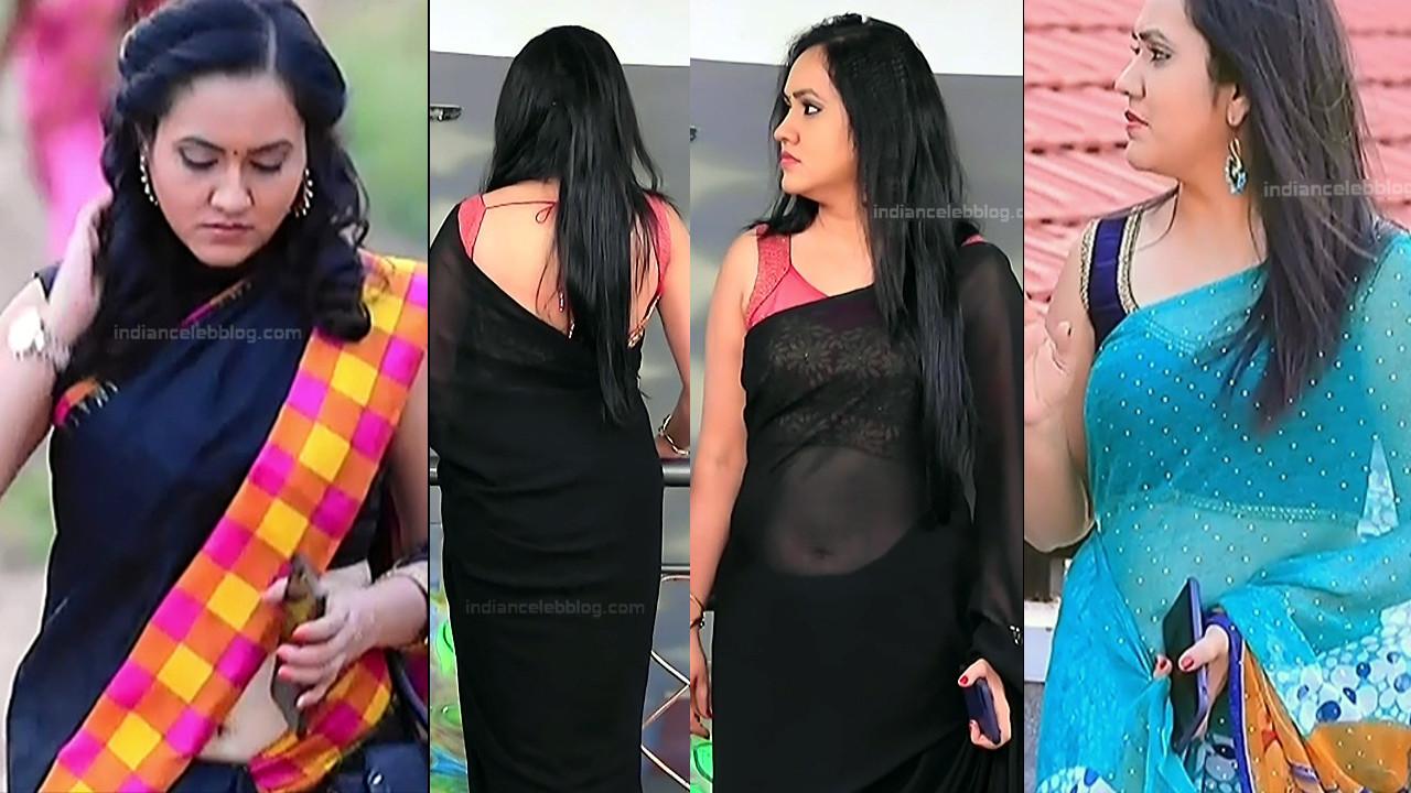 Sindhu Kalyan_Kannada TV Actress PuttaGM-S1_20_Hot Saree pics