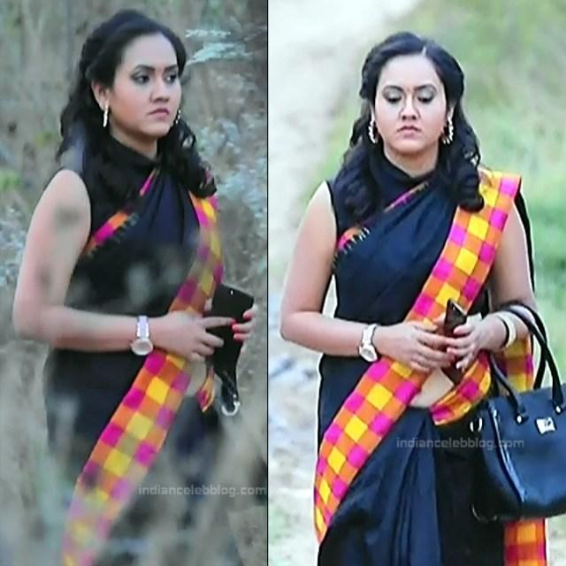 Sindhu Kalyan_Kannada TV Actress PuttaGM-S1_6_Hot Saree pics