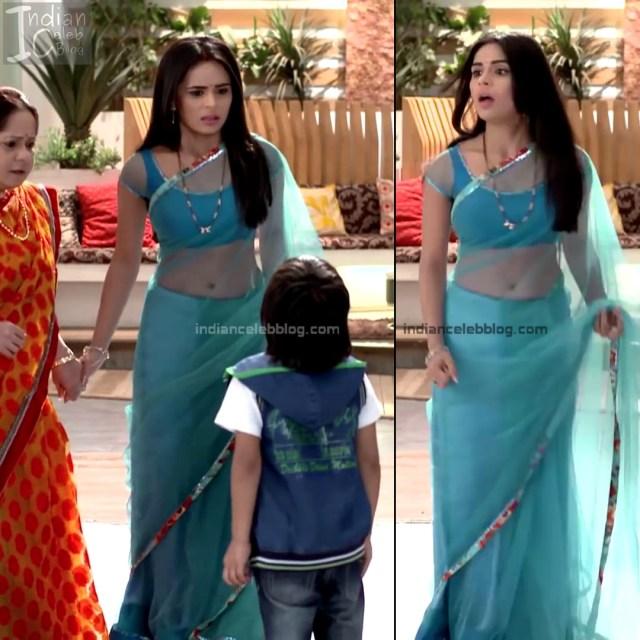 Sonal Vengurlekar_Hindi serial Actress S4_15_Hot saree navel pics