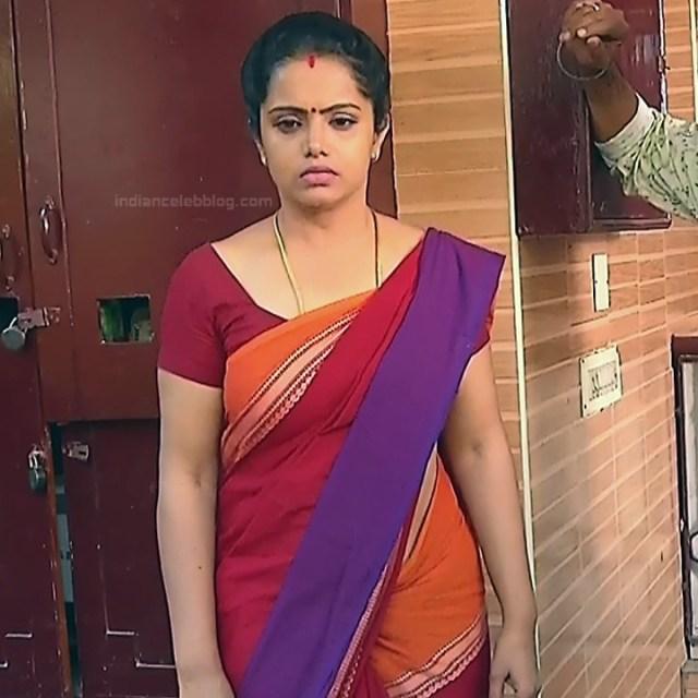 Sudha Tamil TV Actress Mahalakshmi S2 12 Hot Saree Photos