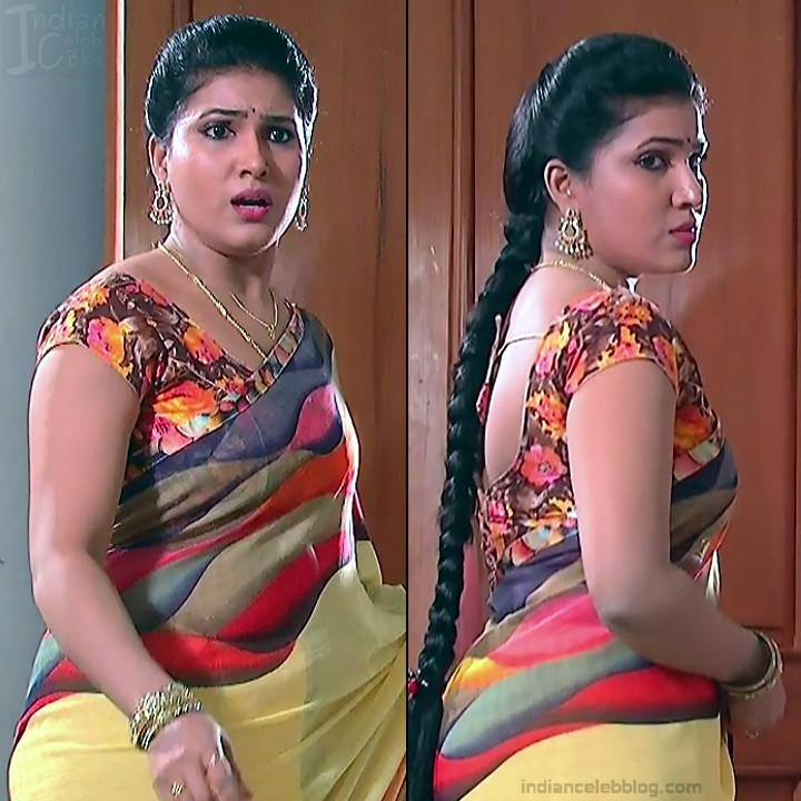 Telugu TV Actress Compilation S1_12_Hot Saree photos