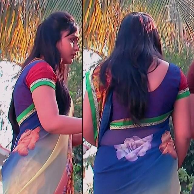 Telugu TV Actress Compilation S1_5_Hot Saree photos