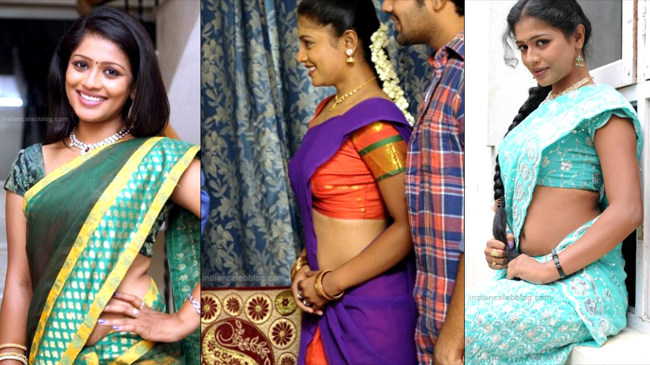 Anusri Telugu TV Actress Saree Stills_Thumb