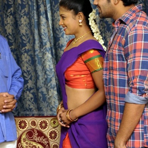 Anusri Telugu TV Actress_Gandikotalo movie stills_56