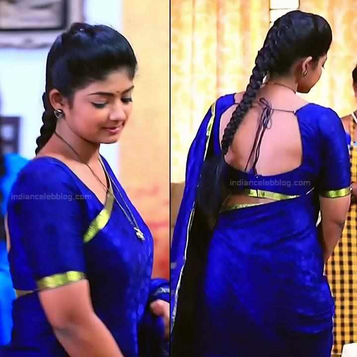 Bhoomi shetty kannada serial actress KinNS2 11 Hot saree photo