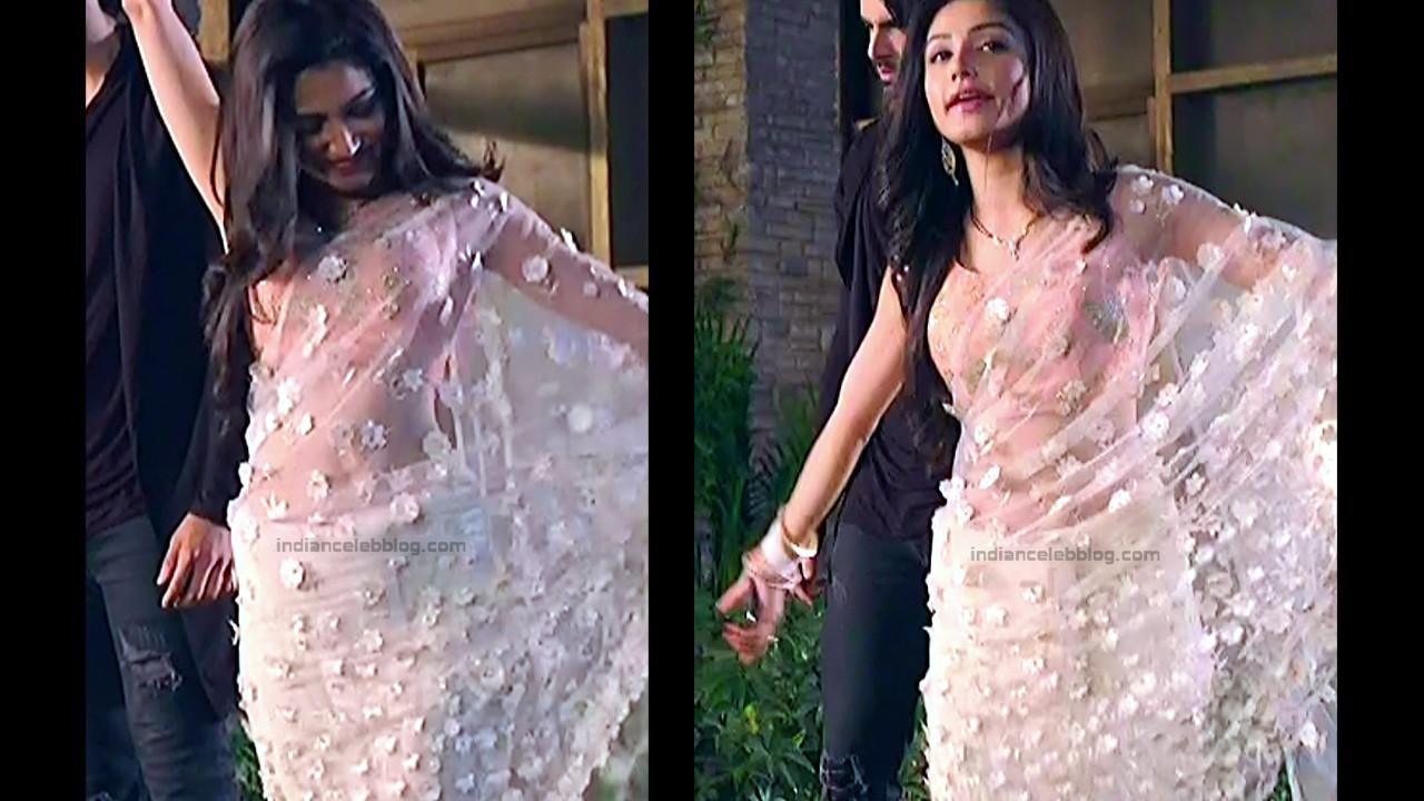 Donal Bisht Hindi Serial Actress EkDTS1 6 Hot Saree Pics