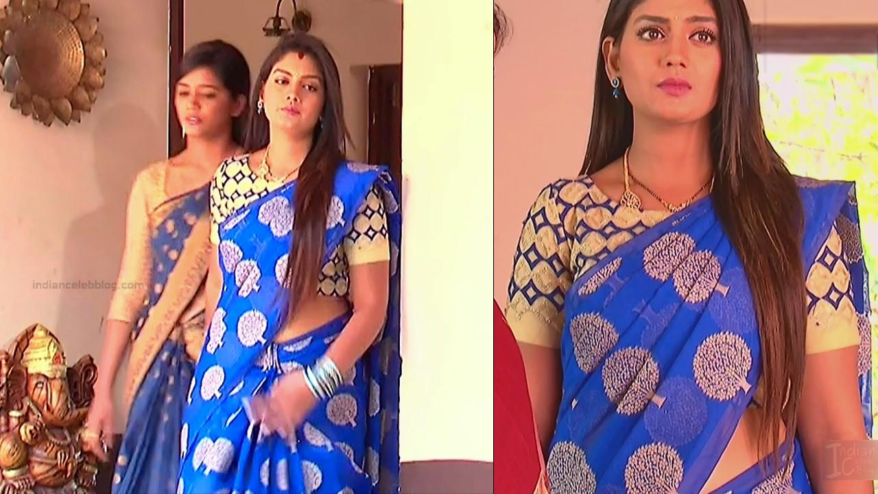 Karuna Telugu serial actress AbhiSS2 1 hot saree photos