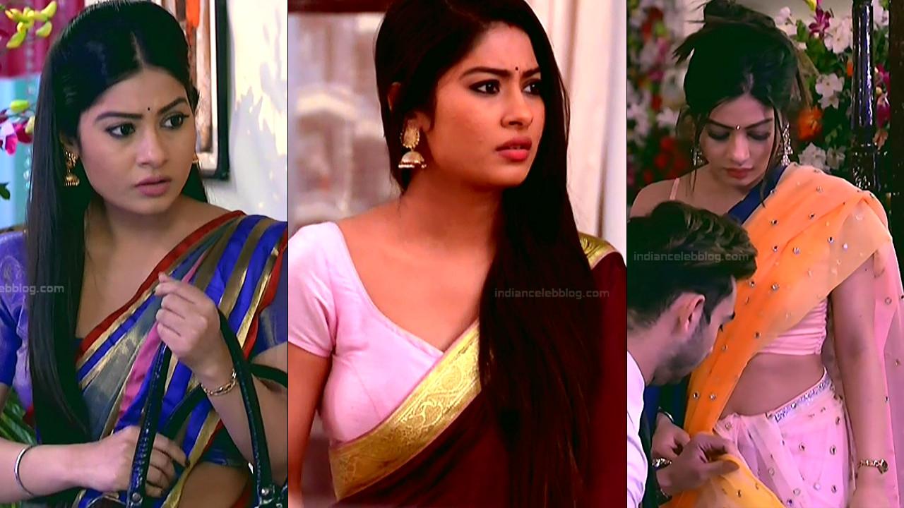 Krishna Mukherjee hot saree scene hindi tv caps